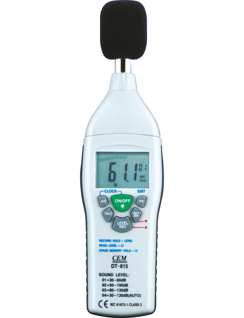 Cem sound level meter dt-85a manual high school